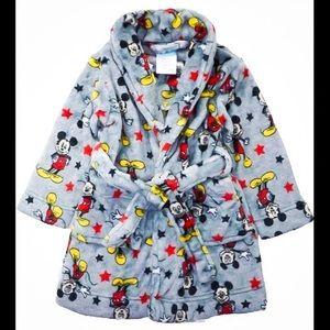 BRAND NEW 2T Mickey Fleece Robe